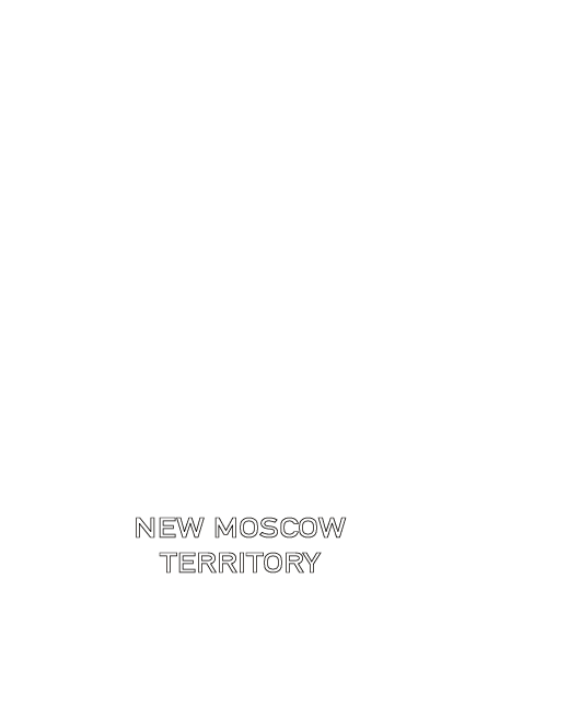 New Moscow territory